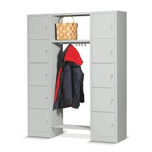 Lockers met garderobe
